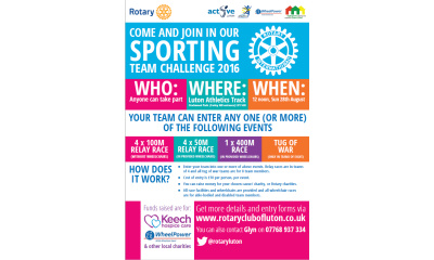 Rotary sports 2016 listing