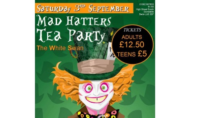 Mad hatters white swan listing