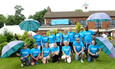LLA Golf Day corporate charity partnership