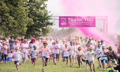 Colour Dash support us
