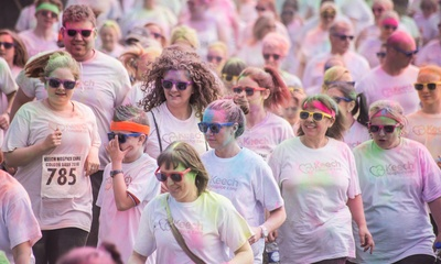 Colour Dash event news story