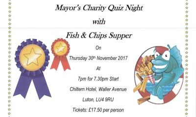 Mayors charity quiz night and fish and chips original listing