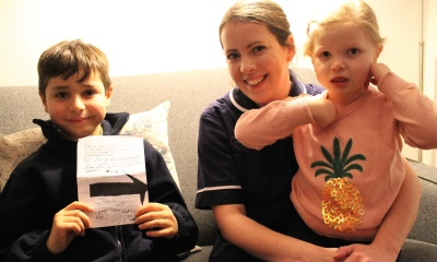 Image 2 boy writes letter to santa keech hospice care listing