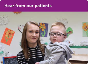 Hear from our patients thumbnail