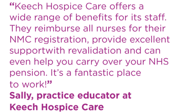Sally nurse recruitment quote