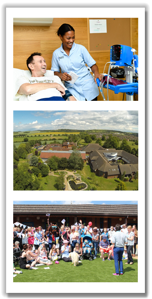 Fun to work at Keech Hospice Care triple image