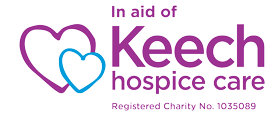 In aid of Keech Hospice Care logo