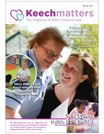 Keech Matters Spring 2017 cover