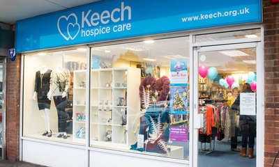 Keech charity shops near me