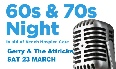 60s and 70s night 23 march 2019 listing