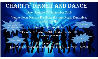 Dinner and dance listing